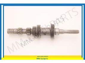 Cluster gear, transmission, 33/29/22/13/11 teeth
