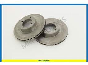 Brake discs front, 246x20 MM, ventilated, SET  18S/2.0S/2.0E