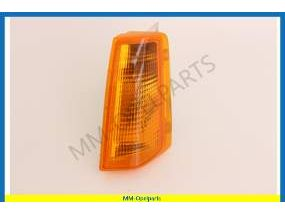 Flasherlight orange, with base, left  from Vin-number D1000029