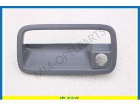 Handle grab plate gray leftt front