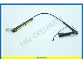 Lock, seat belt, with tensioner, LH (exc. Side air bag system)