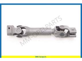 Coupling steering gear to column (Ident R3)