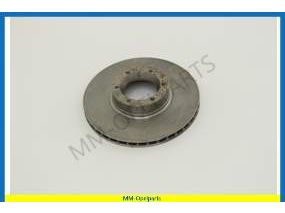 Brake disc, front, 280x23 MM, ventilated
