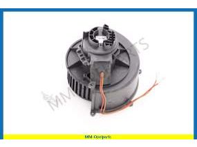 Fan with motor, lower, (Without Quickheat-System) (RHD)