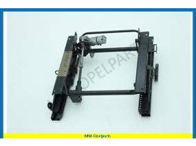 Rail, guide and adjuster front seat, right, without support & incline adjuster