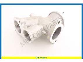 Intake manifold with EGR valve