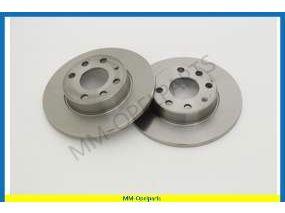 Brake discs front, 236x10 MM, SET
