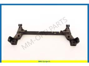 Rear axle with bushing