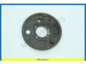 Brake plate left