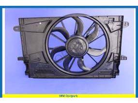Fan motor, with frame, BOSCH