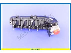 Intake manifold, with Throttle body, B20DTH Mann-Hummel,