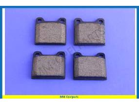 Brake pad set  238-mm disc (see info)