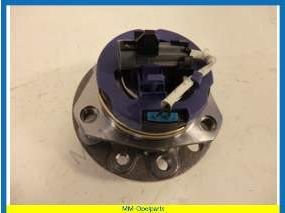 Ball-bearing set front axle complete 5-Stud