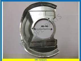Dust shield, front, Ø100mm