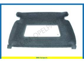 Bulkhead, with window and covered with fabric Combo Corsa C Model
