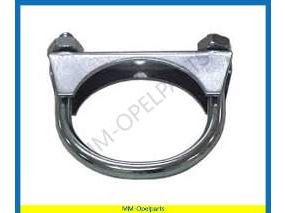 Exhaust clamp 58 mm