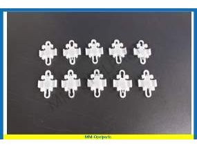 Clamp for moulding (10 pieces)