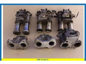 Carburettor 45DCOE used, serveral parts in box