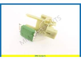 Heather resistor, without airco (NOTE: Exchange item)